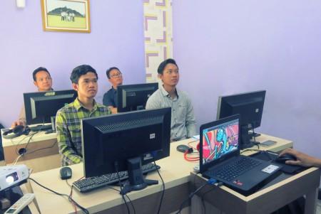 Pelatihan Teknologi Informasi PERUM PERURI September 2017