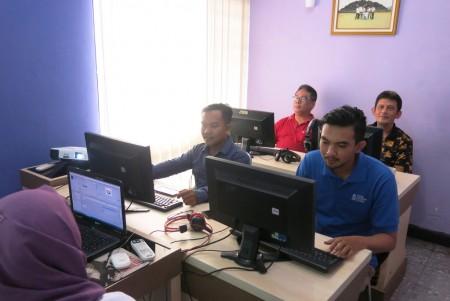 Pelatihan Teknologi Informasi Perusahaan Umum Percetakan Uang Republik Indonesia Oktober 2017