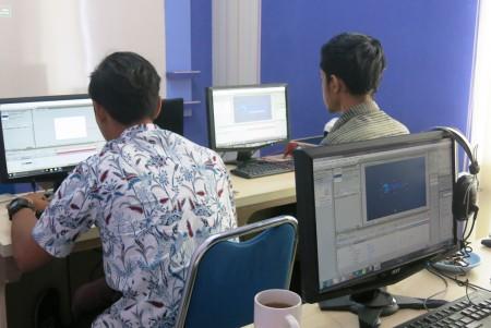 Pelatihan Video Editing Perusahaan Umum Percetakan Uang Republik Indonesia (PERUM PERURI) September 2017