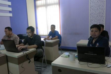 Pelatihan e-Government Bagian TU dan Humas Sekretariat Daerah Kota Tasikmalaya September 2017