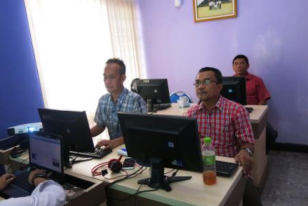 Pelatihan Desain Grafis Politeknik Negeri Sriwijaya Palembang November 2017