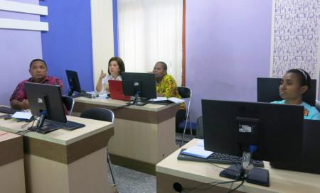 Pelatihan e-Government Fakultas Kedokteran Universitas Cenderawasih Provinsi Papua November 2017