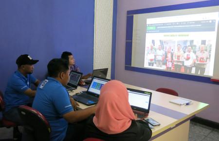 Pelatihan Desain Web Tingkat Dasar Dinas Pertanian (DISTAN) Kabupaten Grobogan Provinsi Jawa Tengah Desember 2017