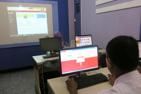 Pelatihan Sasaran Kerja Pegawai (SKP) Elektronik Badan Kepegawaian dan Pengembangan Sumber Daya Manusia (BKPSDM) Kabupaten Aceh Tamiang Desember 2017