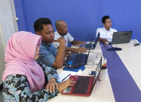 Pelatihan Teknologi Informasi Dinas Pertanian (DISTAN) Kabupaten Grobogan Provinsi Jawa Tengah Desember 2017
