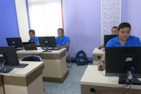 Pelatihan e-Government Badan Kepegawaian dan Pengembangan Sumber Daya Manusia (BKPSDM) Kabupaten Aceh Tamiang Desember 2017