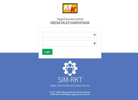 Pelatihan Sistem Informasi Rencana Kinerja Tahunan (SIM-RKT) Yogya Executive School Januari 2018