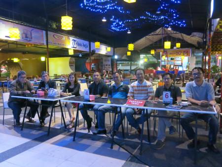 Acara Malam Keakraban Peserta Pelatihan Pengenbangan SDM - Teknologi Informasi (TI) - Perkantoran Elektronik (E-Office) Yogya Executive School Februari 2018
