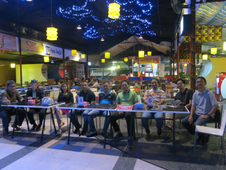 Acara Malam Keakraban Peserta Pelatihan Teknologi Informasi (TI) dan Pengembangan SDM Yogya Executive School Februari 2018