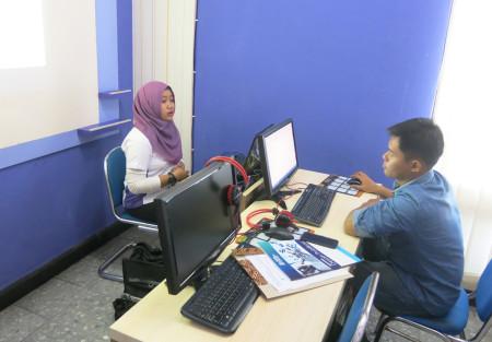 Pelatihan Desain Publikasi Dinas Kesehatan (DINKES) Provinsi Kalimantan Utara Februari 2018