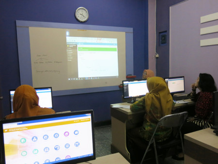 Pelatihan E-FILING (Kearsipan Dokumen Berbasis Elektronik) Politeknik Negeri Sriwijaya (POLSRI) Februari 2018