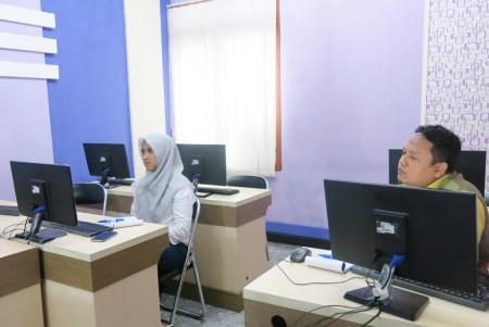 Pelatihan Jurnalistik Web dan Manajemen Konten Dinas Komunikasi dan Informatika (DISKOMINFO) Kota Tegal Februari 2018
