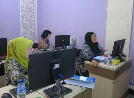 Pelatihan Perkantoran Elektronik (E-Office) e-Filing (Kearsipan Dokumen Berbasis Elektronik) Februari 2018