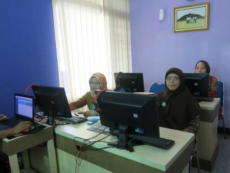 Pelatihan SIMPRIMA Politeknik Negeri Sriwijaya (POLSRI) Kota Palembang Februari 2018