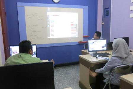 Pelatihan Teknologi Informasi (TI) Jurnalistik Web DisKomInfo Kota Tegal Februari 2018