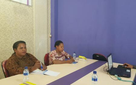 Pelatihan Keprotokolan dan Master of Ceremony (MC) Sekretariat Daerah (SEKDA) Kabupaten Boven Digoel Provinsi Papua Maret 2018