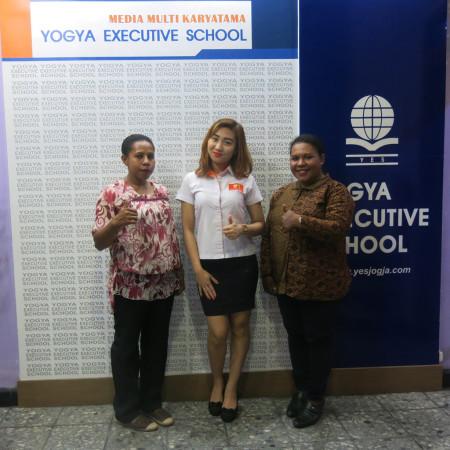 Pelatihan Pengembangan SDM Sekretariat Daerah (SEKDA) Kabupaten Boven Digoel Provinsi Papua Maret 2018