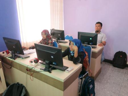 Pelatihan Perkantoran Elektronik Dinas Komunikasi, Informatika, Statistik dan Persandian Kabupaten Polewali Mandar Maret 2018