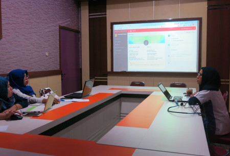 Pelatihan Sasaran Kinerja Pegawai (SKP) Elektronik