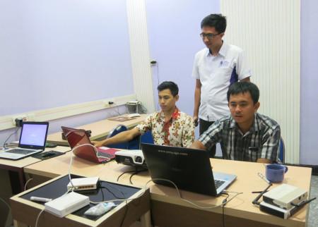 Kegiatan Pelatihan Jaringan Komputer YES Jogja