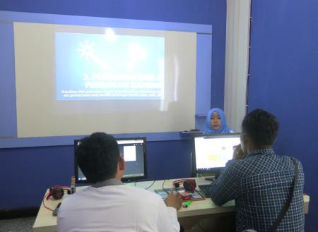 Pelatihan Multimedia Video Editing Dinas Komunikasi dan Informatika (DISKOMINFO) Kabupaten Boven Digoel April 2018