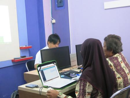 Pelatihan Pengelolaan Data Statistik Sektoral (SIMDATA-INFO) Dinas Komunikasi dan Informatika, Statistik dan Persandian Kabupaten Fakfak April 2018