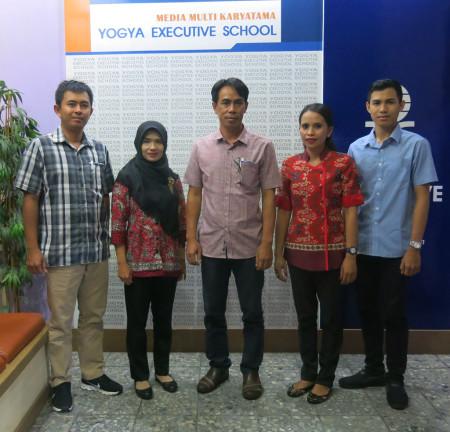 Pelatihan Pengembangan SDM dan Teknologi Informasi (TI) Badan Pendapatan Daerah (BPD) Kab Landak Prov Kalimantan Barat Maret 2018