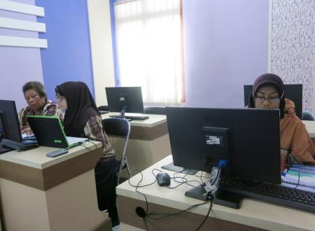 Pelatihan Perkantoran Elektronik (E-Office) Dinas Komunikasi dan Informatika, Statistik dan Persandian Kab Fakfak Prov Papua Barat April 2018