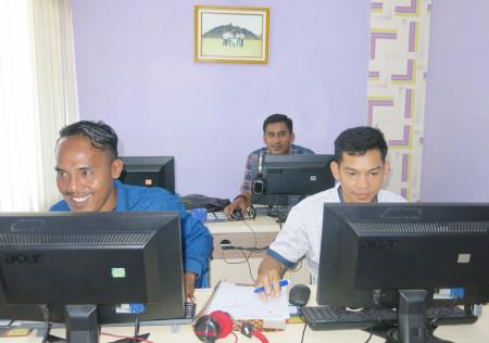Pelatihan Teknologi Informasi Diskominfo Kabupaten Boven Digoel April 2018