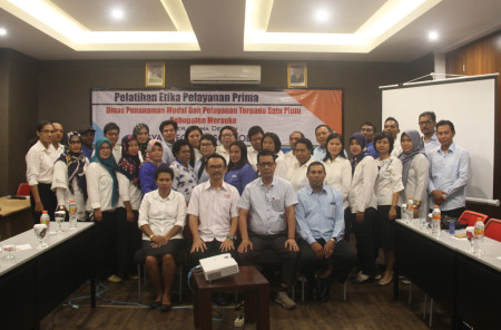 Pelatihan Pengembangan SDM - Etika Pelayanan Prima Mei 2018