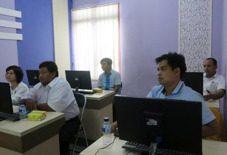 Pelatihan Teknologi Informasi (TI) GPS Dinas Penanaman Modal dan Pelayanan Terpadu Satu Pintu Kab Merauke Mei 2018