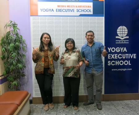 Pelatihan Teknologi Informasi (TI) dari Fakultas Teknologi Industri Universitas Atma Jaya Yogyakarta Mei 2018