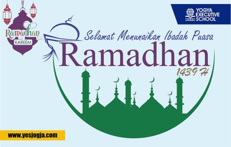 Selamat menunaikan ibadah puasa Ramadhan 1439 H Yes Jogja Pelatihan Pengembangan SDM - Teknologi Informasi (TI) - Perkantoran Elektronik (e-Office & e-Government) Mei 2018