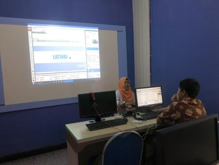 Pelatihan Desain Multimedia untuk Promosi Kesehatan Dinas Kesehatan Provinsi Kalimantan Utara Juni 2018