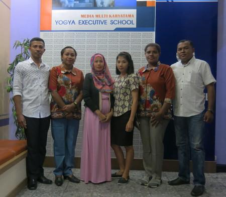 Pelatihan Pengembangan SDM Dinas Penanaman Modal dan Pelayanan Terpadu Satu Pintu (DPMPTSP) Kabupaten Boven Digoel Juni 2018