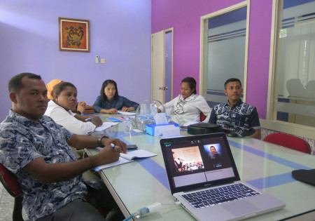 Pelatihan Public Speaking Dinas Penanaman Modal dan Pelayanan Terpadu Satu Pintu (DPMPTSP) Kabupaten Boven Digoel Provinsi Papua Juni 2018