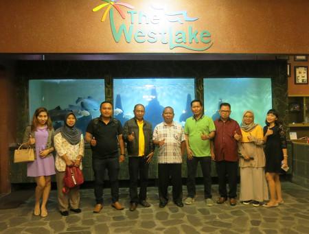 Acara Malam Keakraban Peserta Pelatihan E-Government dari Sekretariat DPRD Kabupaten Banggai Provinsi Sulawesi Tengah Juli 2018