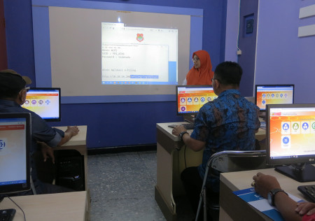 Pelatihan E-Office Kearsipan Elektronik (E-Filing) Sekretariat (DPRD) Kabupaten Banggai Provinsi Sulawesi Tengah Juli 2018