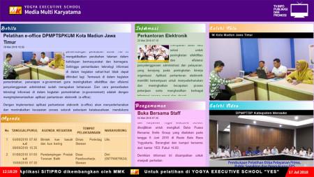 Pelatihan Perkantoran Elektronik Sistem Informasi TV Info Publikasi dan Promosi (SITIPRO) Juli 2018