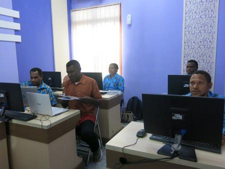 Pelatihan Teknologi Informasi DISKOMINFO Kabupaten Maybrat Provinsi Papua Barat Juli 2018