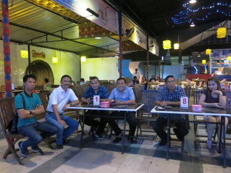 Acara Malam Keakraban Peserta Pelatihan Cyber Public Relation Dinas Komunikasi dan Informatika (DISKOMINFO) Provinsi Sumatera Utara YES Jogja – XT Square Agustus 2018