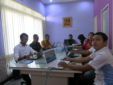 Pelatihan E-Office Penatausahaan Persediaan Elektronik (SIMTORI) Agustus 2018