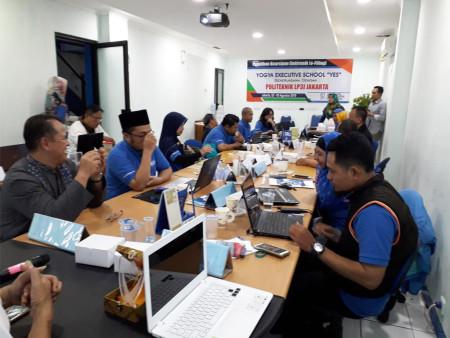 Pelatihan Kearsipan Elektronik (E-FILING) Politeknik LP3I Jakarta Agustus 2018