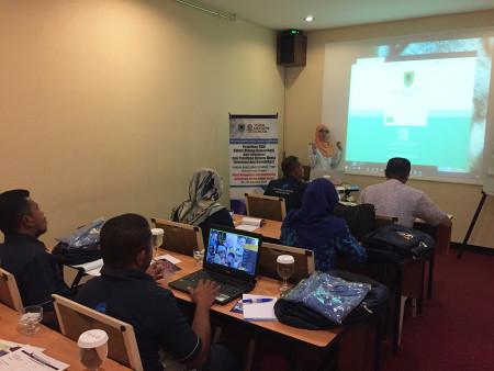 Pelatihan Pengelolaan Data Statistik Sektoral (SIMDATA-INFO) DISKOMINFO Kab Seram Bagian Timur Agustus 2018
