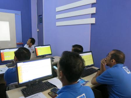 Pelatihan Pengolahan Data dan Penyajian Informasi Dinas Komunikasi Informatika Statistik dan Persandian Kabupaten Murung Raya Agustus 2018