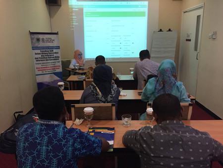 Pelatihan Pengolahan Data dan Penyajian Informasi (SIMDATA-INFO) DISKOMINFO Kab Seram Bagian Timur Agustus 2018
