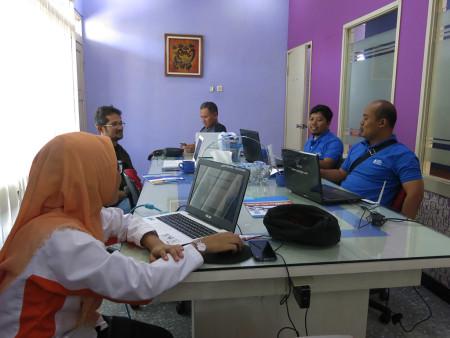 Pelatihan Pengelolaan Data Statistik Sektoral (SIMDATA-INFO) DISKOMINFO Kota Tasikmalaya September 2018