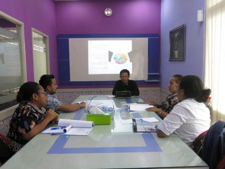 Pelatihan Pengelolaan Keuangan Daerah Biro Otonomi Khusus Sekretariat Daerah (Setda) Provinsi Papua September 2018