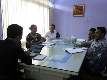 Pelatihan Pengembangan SDM Biro Otonomi Khusus Sekretariat Daerah (Setda) Provinsi Papua September 2018