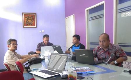 Pelatihan Perkantoran Elektronik DISKOMINFO Kota Tasikmalaya Provinsi Jawa Barat September 2018